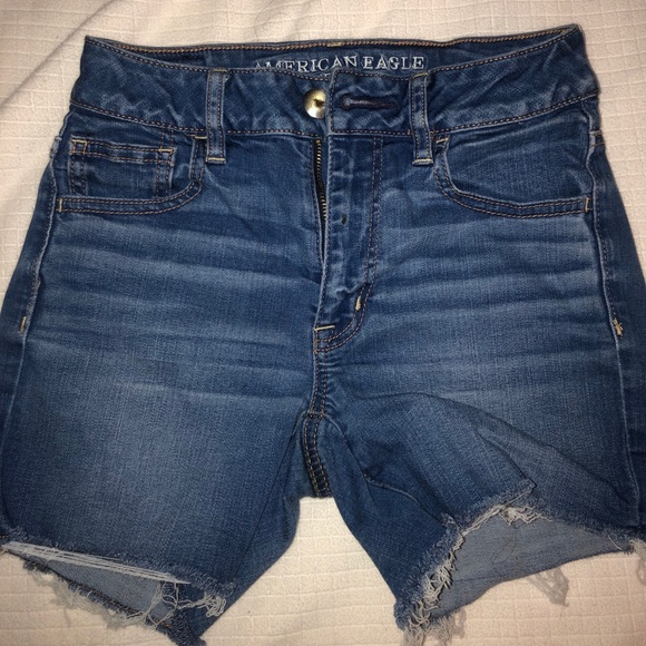 American Eagle Outfitters Pants - American eagle high wasted shorts